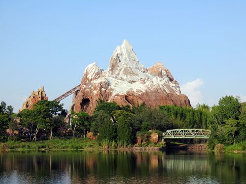 Conquer Everest early in the morning and enjoy some great views.