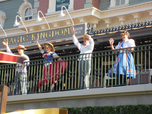 The Magic Kingdom Welcome Ceremony is great!