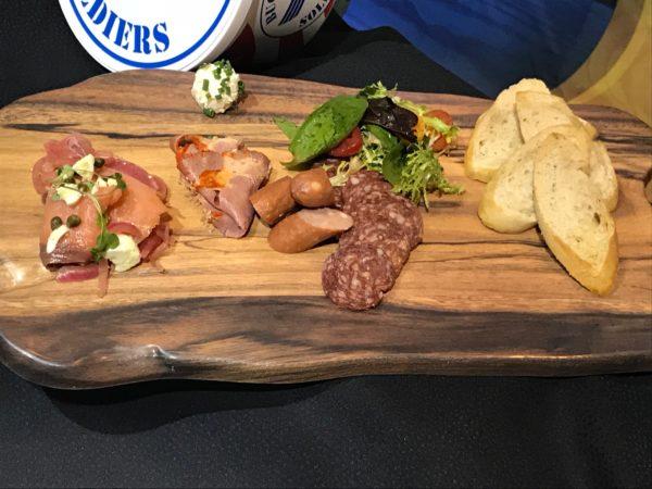 Breakfast Charcuterie Platter.
