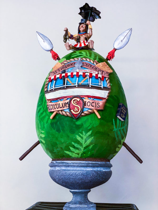 This new Easter Egg design for 2020 celebrated the Jungle Cruise! Photo credits (C) Disney Enterprises, Inc. All Rights Reserved
