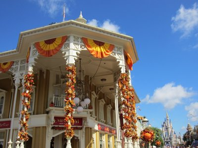 Even the Emporium is decked out for fall and Halloween.