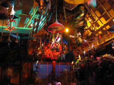 The Tiki Room comes to life with song and light.