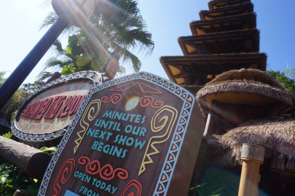 A look at Disney's Enchanted Tiki Room in Adventureland.