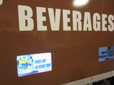 The beverage refill stations feature Rapid Fill (i.e. refill limits).