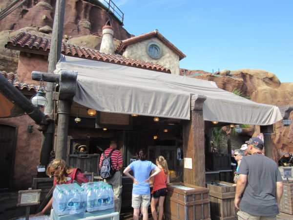 There are many fruit stands like Prince Eric's Village Market around Disney World.