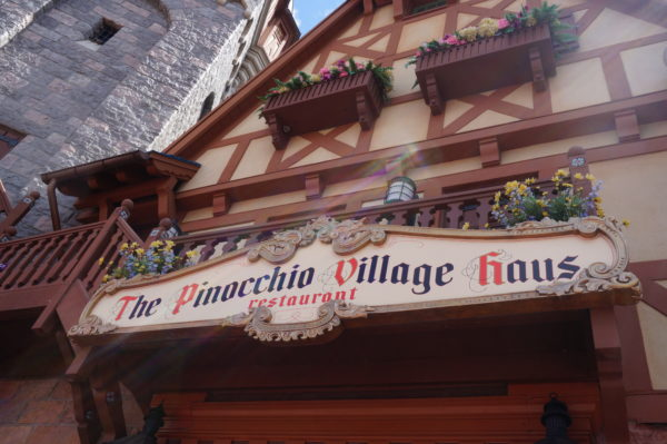 The flatbread at Pinocchio Village Haus is delicious and nutritious!