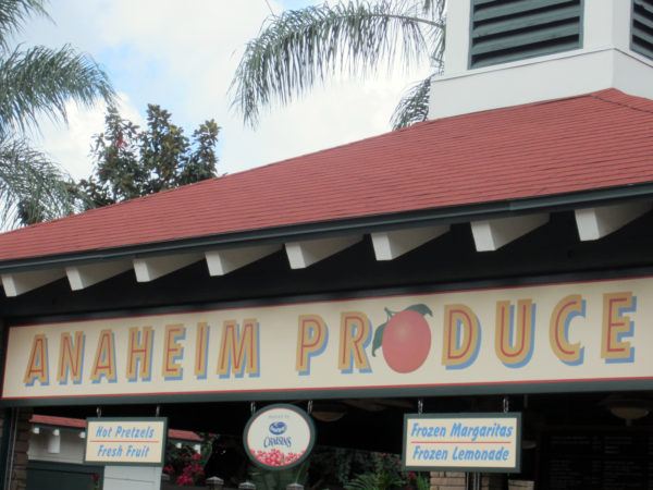 Anaheim Produce on Sunset Blvd is more than just a fruit stand. They have hot Pretzels, fresh fruit, frozen Margaritas, and frozen lemonade.