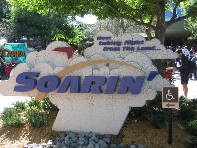 Enjoying Soarin