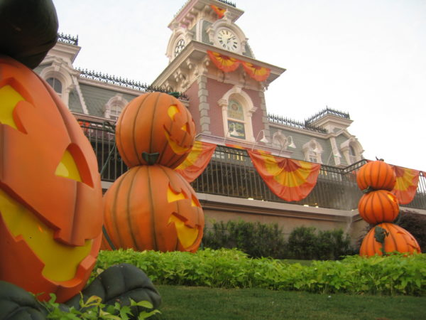 The Magic Kingdom is special during the Halloween season!