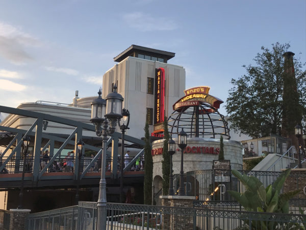 Enzo's Hideaway is in Disney Springs.