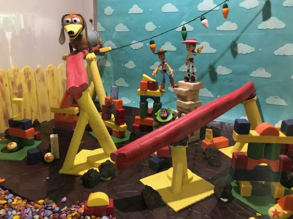Slinky Dog and the new Toy Story Land.