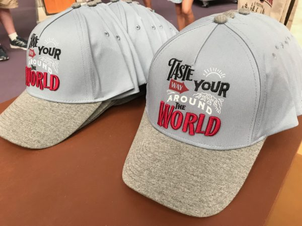 Taste your way around the world baseball hat.