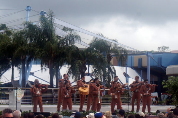 Mariachi Cobre has been entertaining guests at the Epcot Mexico pavilion for 35 years.