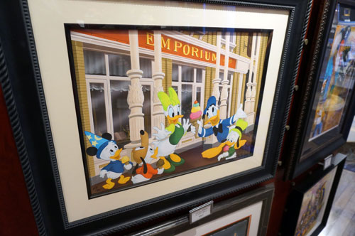 "Treat on Main Street by Don ""Ducky"" Williams - $395."