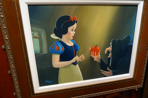 The Bad Apple by Rob Kaz. Original Art Work - $4,250.