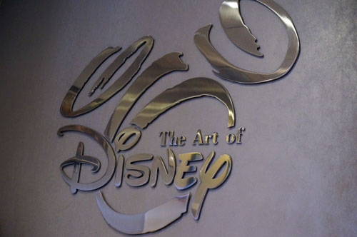 Welcome to The Art of Disney store in Epcot.