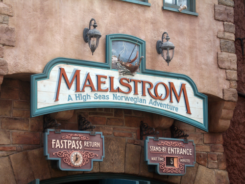 Maelstrom has always been a controversial ride, but it is currently getting a makeover.