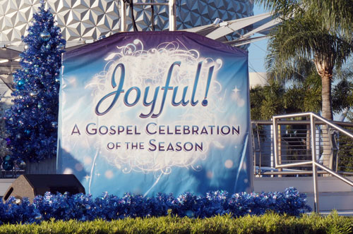 Joyful! is an amazing gospel show - be sure to check it out!