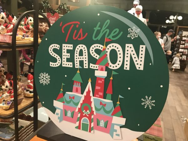Of course, the shops have plenty of Christmas merchandise.
