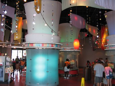 Club Cool at Epcot is often overlooked but still lots of fun.