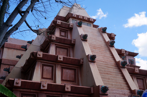 Inside this Mayan Temple, you'll find some of the best selection of alcoholic beverages in all of Disney World.