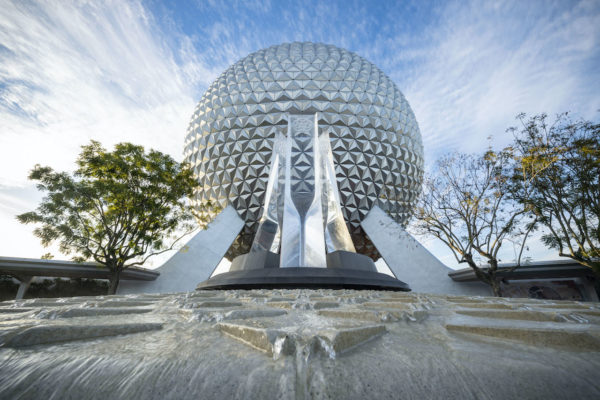 The fountain looks great night and day. Photo credits (C) Disney Enterprises, Inc. All Rights Reserved