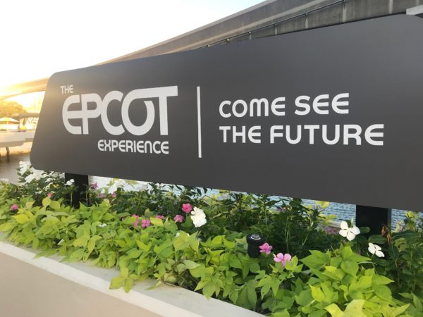 Come see the future of Epcot!