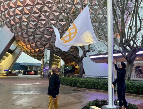 New flags at EPCOT!  Photo credits (C) Disney Enterprises, Inc. / Instagram. All Rights Reserved