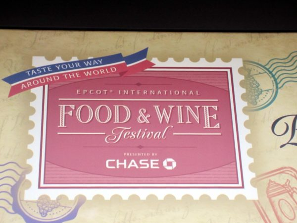 The EPCOT International Food & Wine Festival will return in 2020.