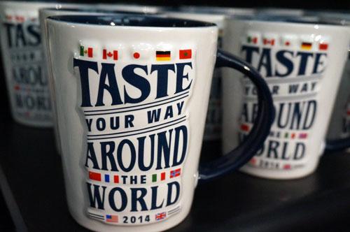 Taste your way around the world in 2014.