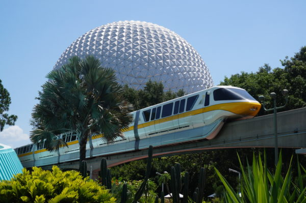 The EPCOT monorail line may reopen soon.
