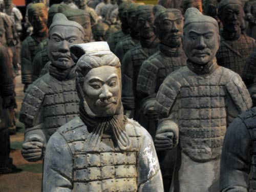 The Terracotta Warriors are an impressive site.