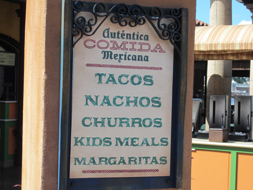 Authentic Mexican food? Maybe not.