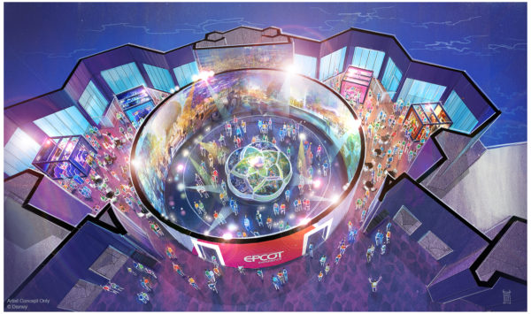 Walt Disney Imagineering presents the Epcot Experience will open October 1, 2019.  Photo credits (C) Disney Enterprises, Inc. All Rights Reserved