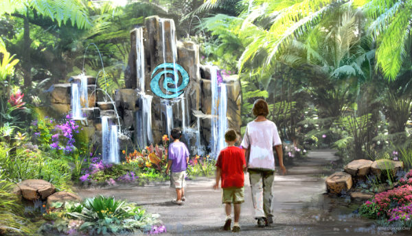 Journey of Water will invite guests to meet and play with magical, living water. Photo credits (C) Disney Enterprises, Inc. All Rights Reserved