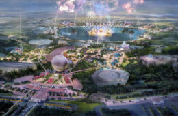 """Concept art for the """"new"""" EPCOT. Photo credits (C) Disney Enterprises, Inc. All Rights Reserved"""