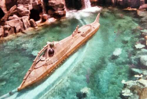20,000 Leagues Under the Sea was a fan favorite for its peaceful beginning, exciting climax, and unique design.