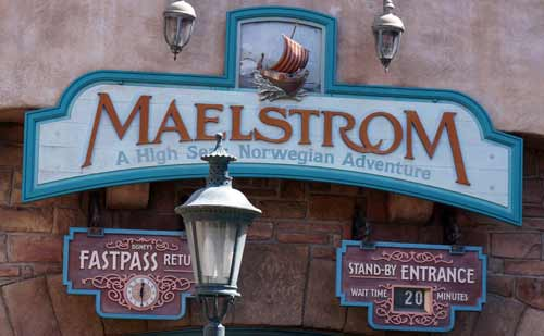 Maelstrom is now closed, and a Frozen-themed attraction will soon open in its place.