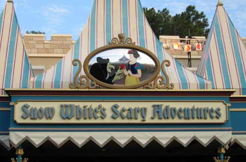 Snow White's Scary Adventures certainly was scary, but the ride received makeovers throughout the years to make it more appealing and advance the technology of the ride.