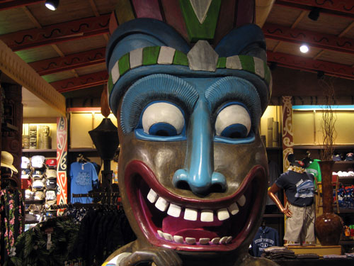 Walt himself loved the Tiki craze.