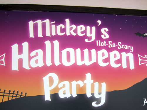 There may be no better way to celebrate Halloween than at Mickey's party.