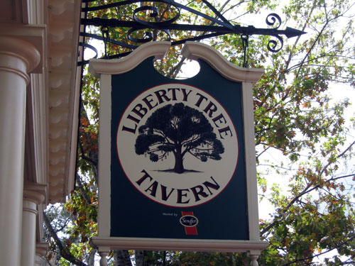 You can enjoy a Thanksgiving meal anytime at the Liberty Tree Tavern.