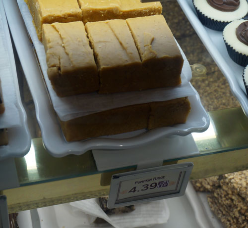 The Pumpkin Fudge is out of this world!