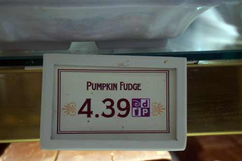 Yes, a single piece of pumpkin fudge is more than four bucks, but it is so good you should try it while it is still available.