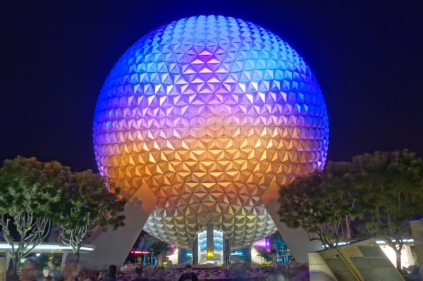 Spaceship Earth is awesome inside and out.