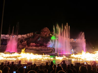 Some parts of Fantasmic can be very intense.