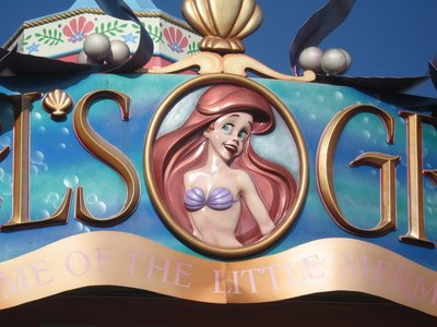 The Little Mermaid comes to Fantasyland in late 2012. Ariel's Grotto is gone, but a new dark ride will appear.