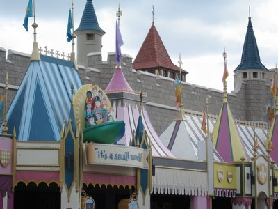 Childhood stories are everywhere in Fantasyland.