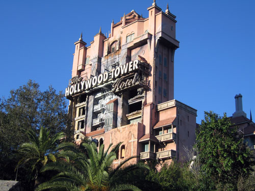 One of Disney's best attractions ever - the Tower of Terror.