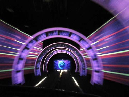 The fastest Disney ride anywhere: Test Track.